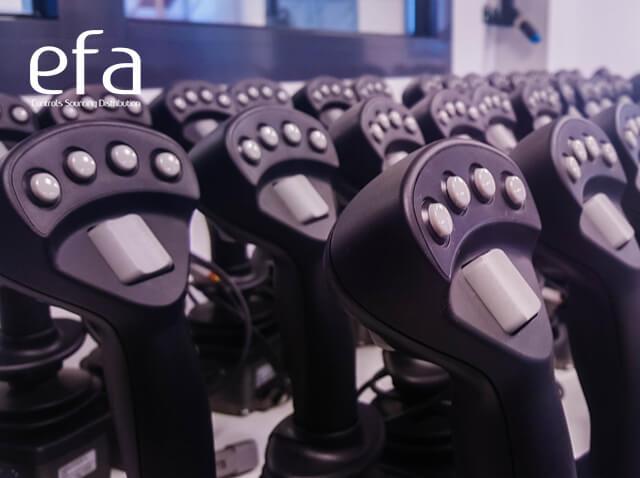 AJ3 joysticks range