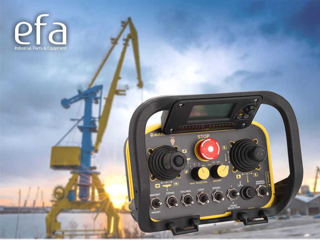 Industrial radio manipulators