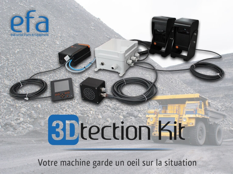 Lancement 3Dtection Kit efa