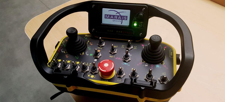 Radiocommande Marais