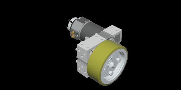 DC-Drive-Wheel