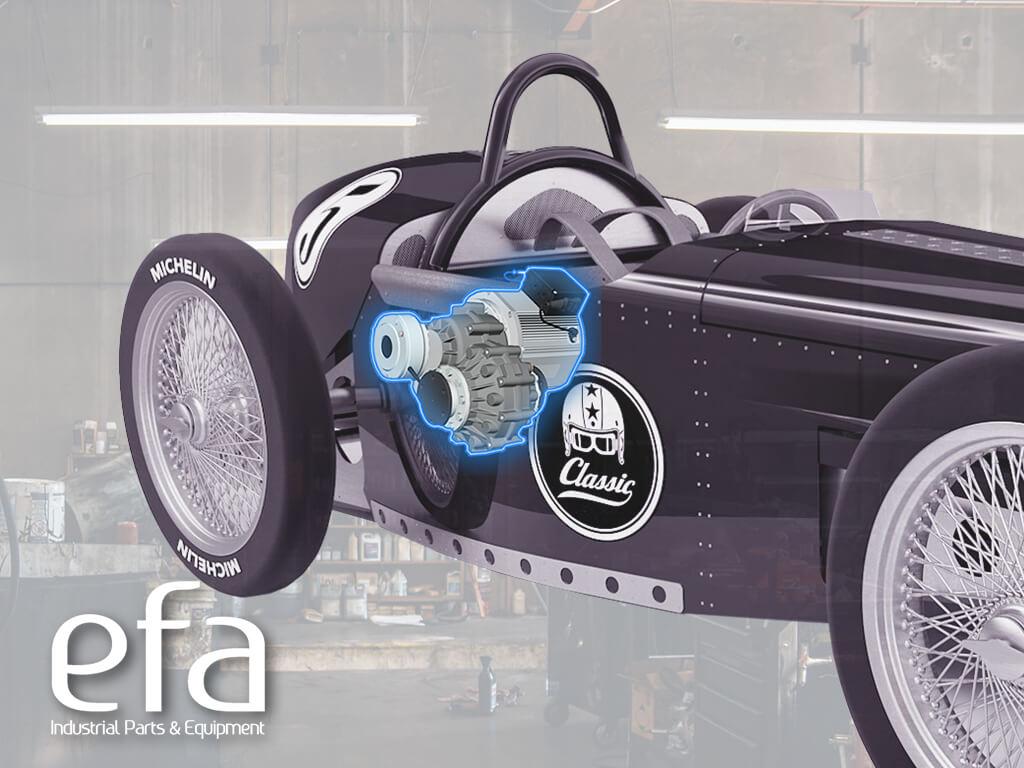 TX2 essieu motorisé Efa France