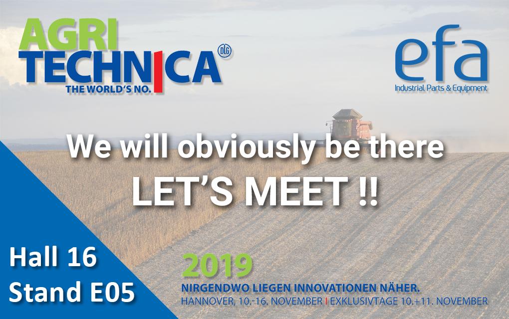 Salon Agritechnica 2019