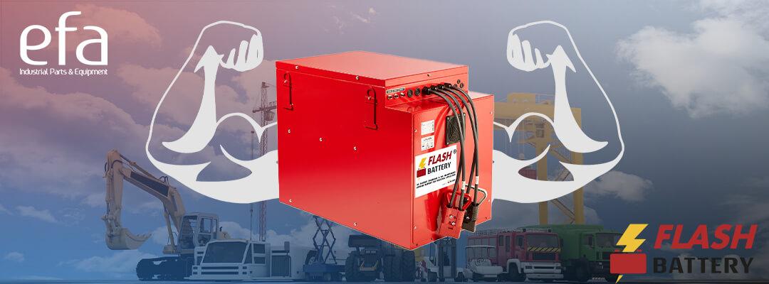 Pourquoi les Flash Battery sont idéales pour vos véhicules industriels ?